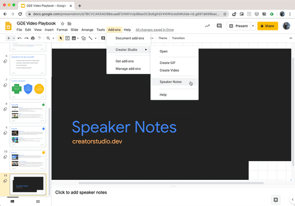 Download Speakers Notes